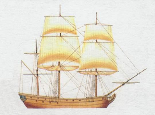 «Bonhomme Richard»(«Бономм Ричард»)фрегат (США)