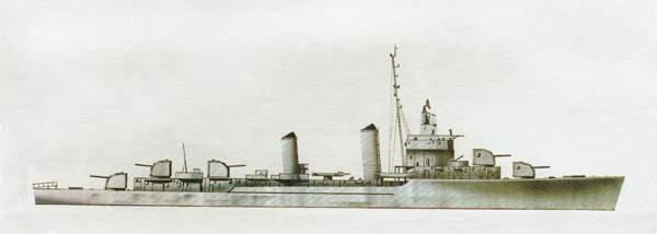«Doyle»(«Дойл»)эсминец (США)
