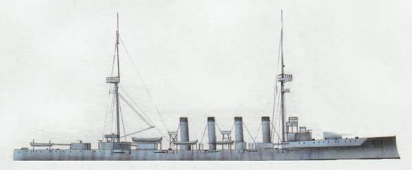 «Black Prince»(«Блэк Принс»)крейсер (Великобритания)