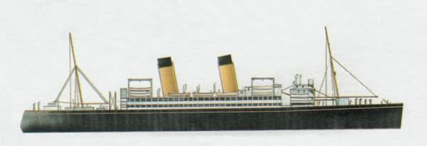 «Doric»(«Дорик»)лайнер (Великобритания)