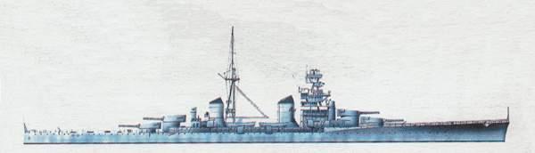 «Zara»(«Дзара»)крейсер (Италия)