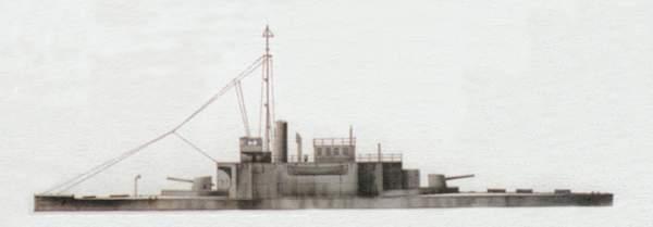 «Cricket»(«Крикет»)речная канонерская лодка (Великобритания)