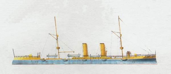 «Yoshino»(«Йошино»)крейсер (Япония)
