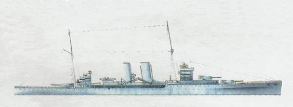 «York»(«Йорк»)крейсер (Великобритания)