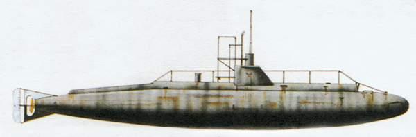 «B1»<br/><br/>подводная лодка (Великобритания)