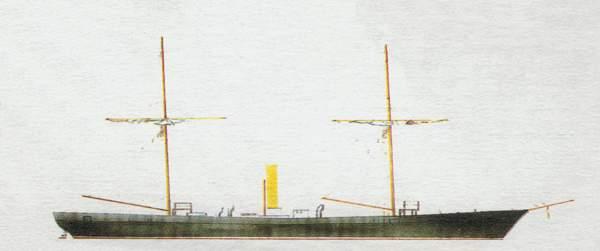 «Zieten»(«Цитен»)торпедная канонерская лодка (Германия)
