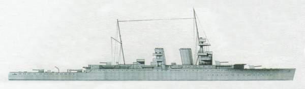 «Effingham»(«Эффингэм»)крейсер (Великобритания)