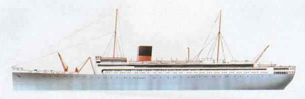 «Baloeran»(«Балоэран»)лайнер (Голландия)