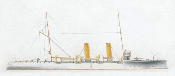 «Extremadura»(«Эстремадура»)крейсер (Испания)
