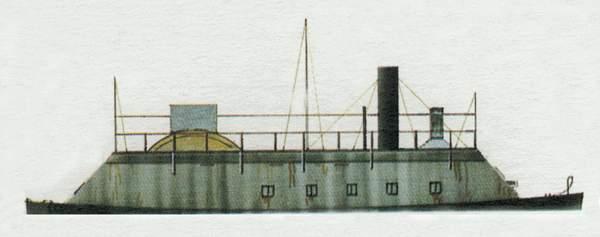 «Benton»(«Бентон»)бронированная канонерская лодка (США)
