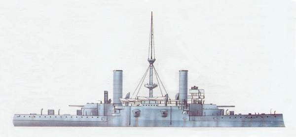 «Ammiraglio diSaint Bon»(«Адмирал диСен-Бон»)броненосец (Италия)