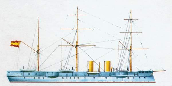 «Aragon»(«Арагон»)крейсер (Испания)