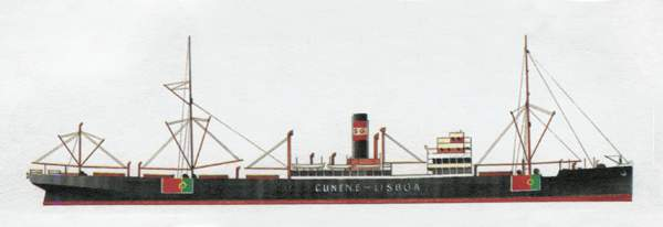 «Cunene»(«Кунене»)грузовое судно (Португалия)