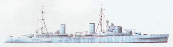 «Arethusa»(«Аретуза»)крейсер (Великобритания)