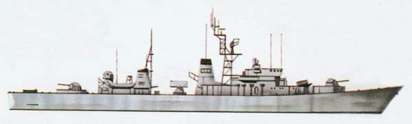 «Asagumo»(«Асагумо»)эскадренный миноносец (Япония)