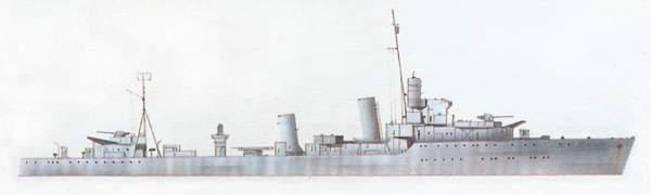 «Ardent»(«Ардент»)эсминец (Великобритания)