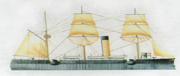 «Elisabeta»(«Элизабета»)крейсер (Румыния)