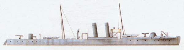 «Astore»(«Асторе»)торпедный катер (Италия)
