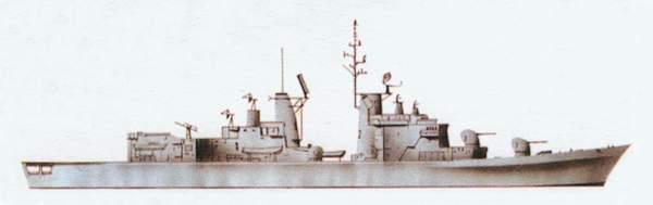 «Audace»(«Аудаче»)эсминец (Италия)