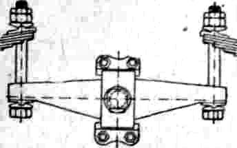 двуплечий рычаг в виде балки с точкой опоры на раме локомотива, соединяющий концы двух соседних рессор. Б. р. служит для выравнивания нагрузок на смежные оси или для распределения общей нагрузки в определенном соотношении между осями в зависимости от соотношения плеч рычага. При случайной перегрузке одной из осей эта перегрузка передается Б. р., к-рый, поворачиваясь вокруг точки опоры, передает часть излишнего веса соседней рессоре, благодаря чему нагрузки выравниваются. Различают Б. р.: а) продольные, соединяющие рессоры, расположенные на одной и той же стороне рамы; б) поперечные, соединяющие рессоры одной и той же оси, расположенные на разных сторонах рамы. Для смягчения ударов в раму иногда в пассаж. паровозах устраивают балансиры в виде рессор; такие рессоры наз. балансирными рессорами или рессорными балансирами.