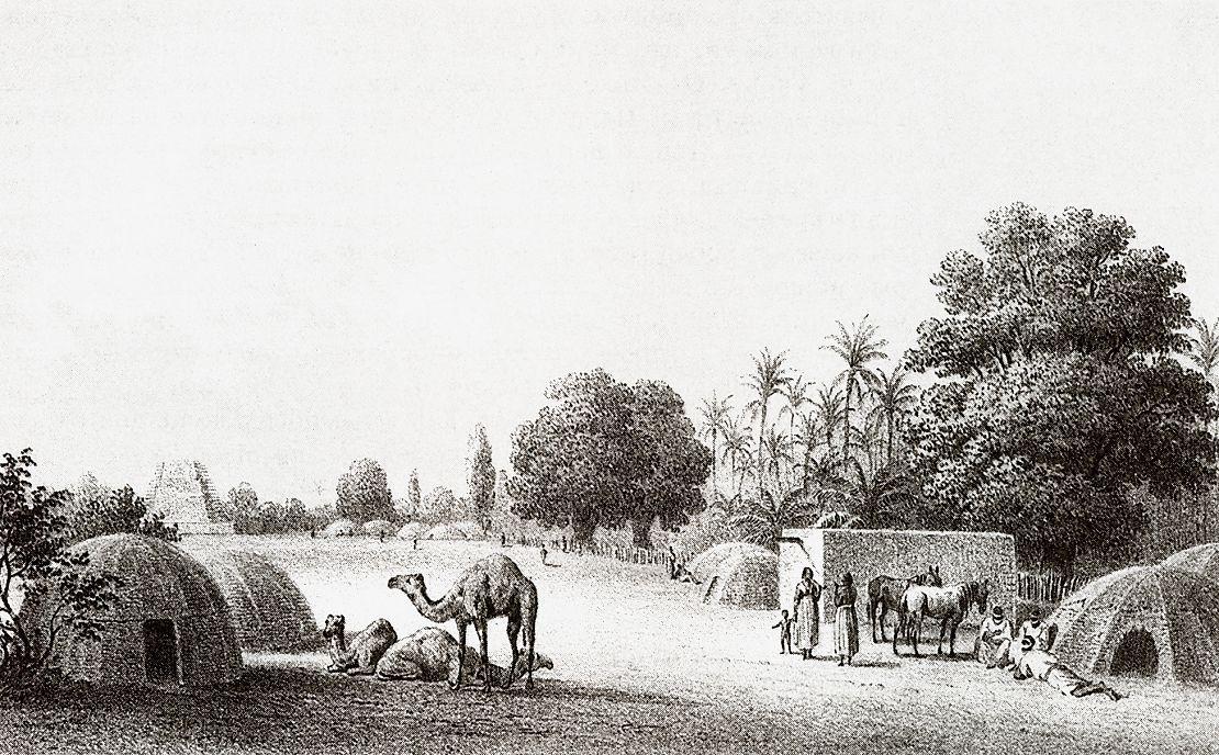 Селение в Кордофане