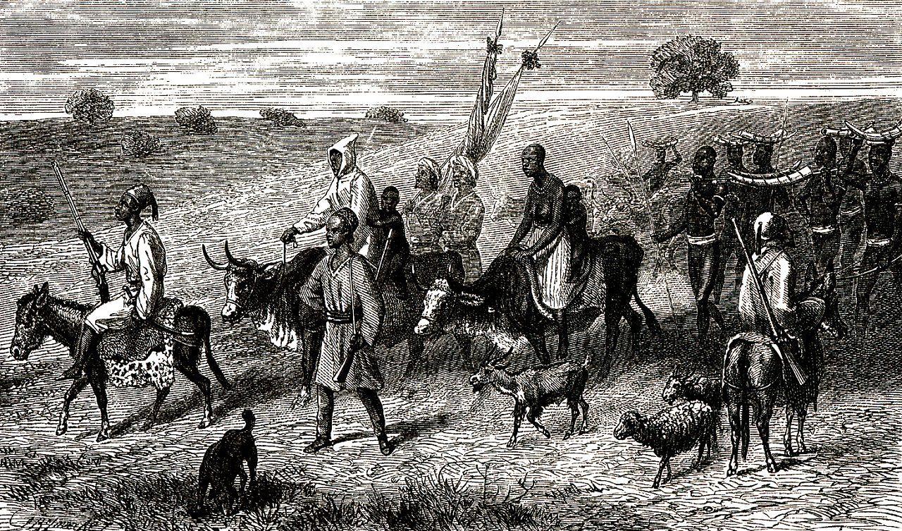 На дорогах Судана