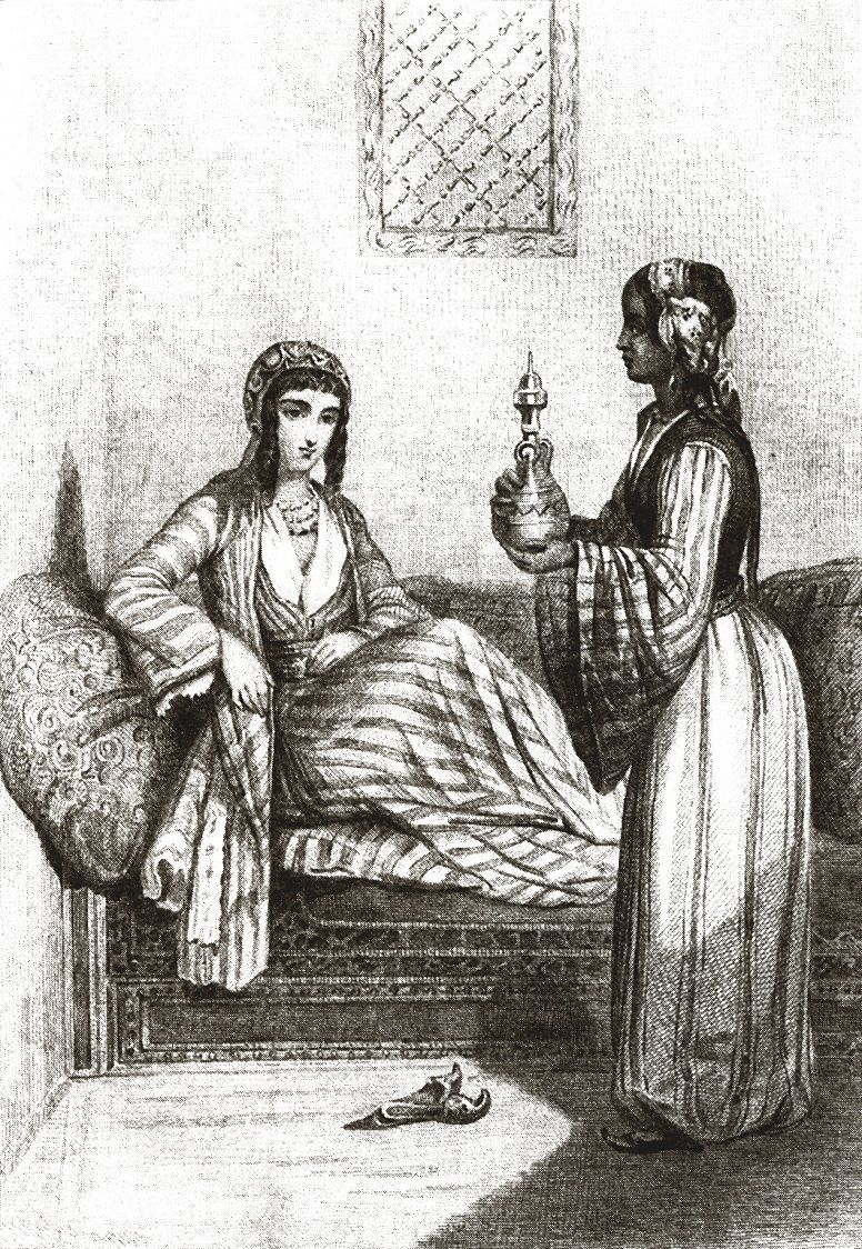 В женской половине турецкого дома