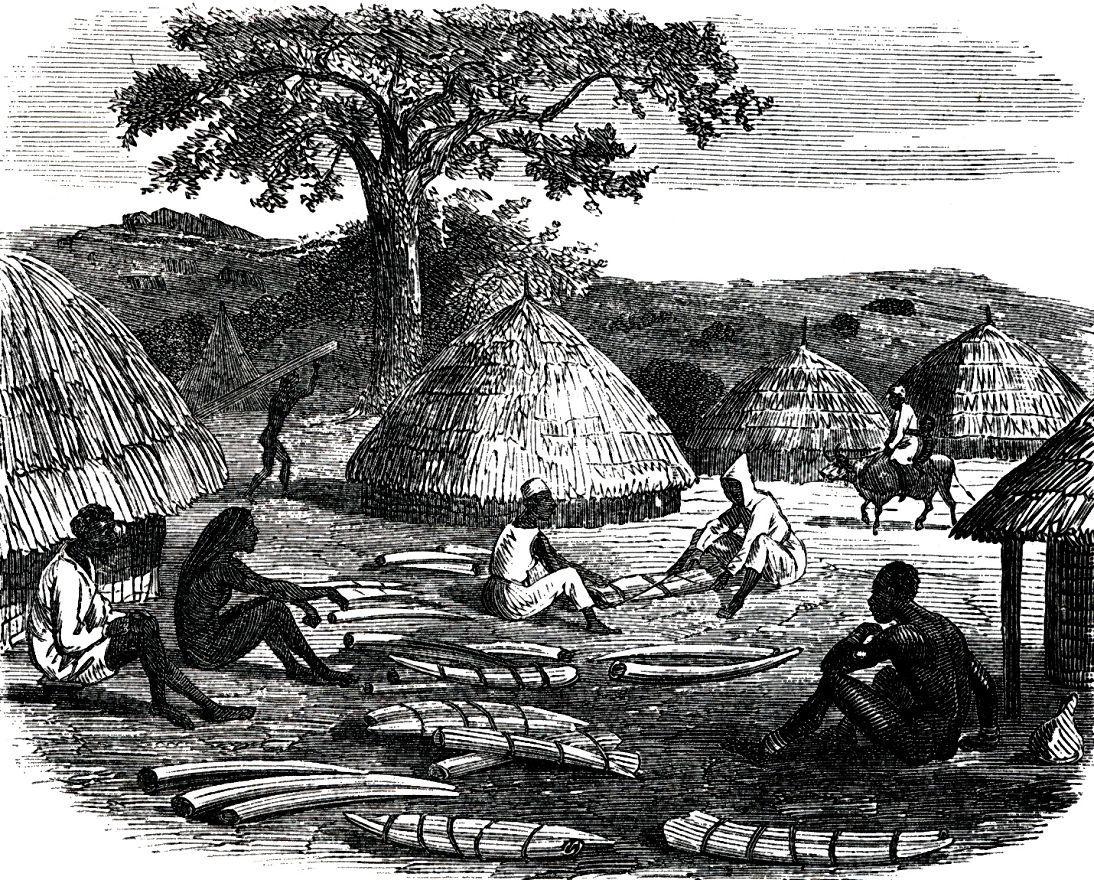 Суданская деревня