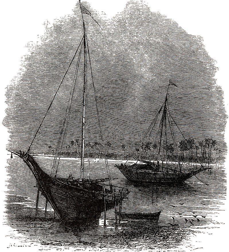 Лодки на Ниле