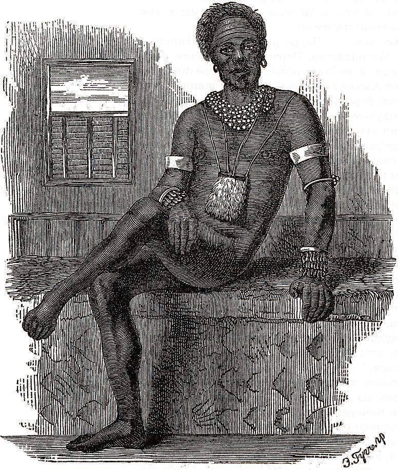 Царь нуэрского племени