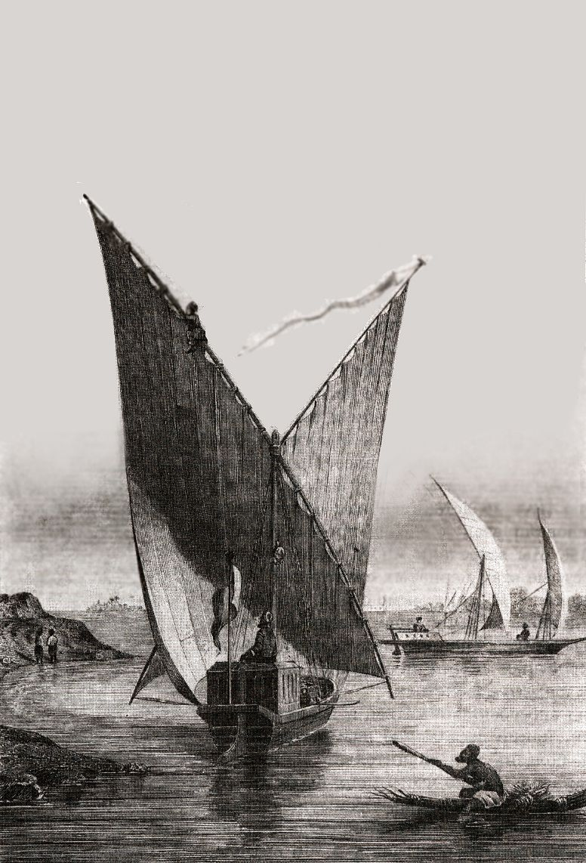 Парусная лодка – неотъемлемая часть нильского пейзажа.