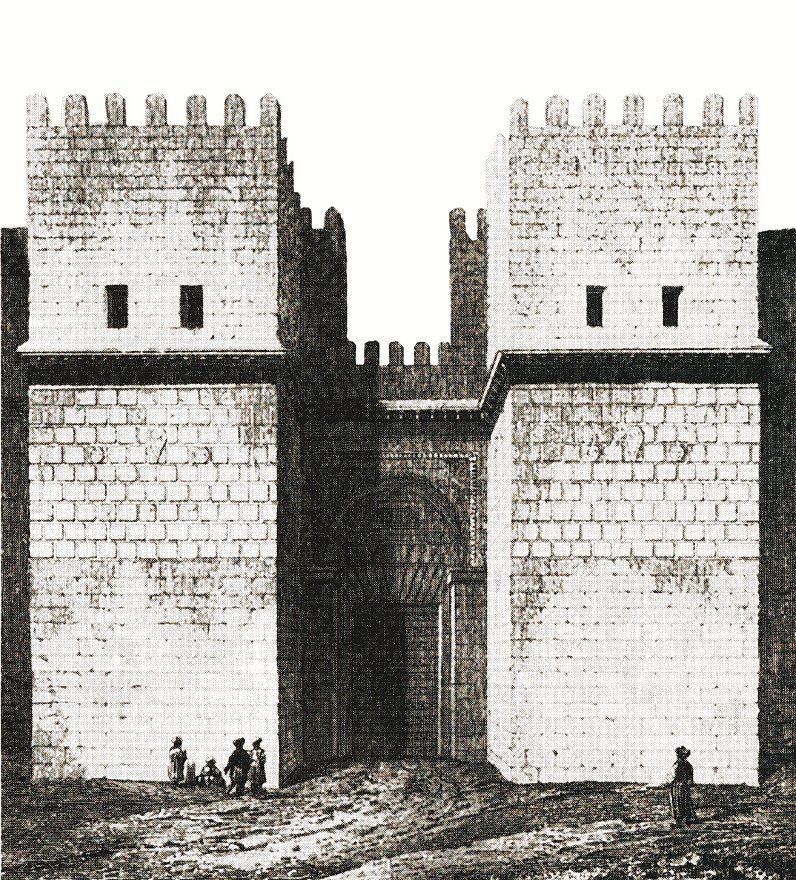 Ворота Каира, называемые Баб-эль-Наар, или ворота Победы