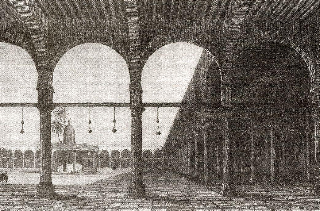 Мечеть Амруя в Старом Каире