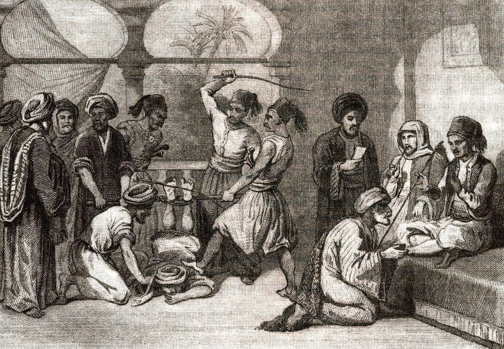 Наказание плетьми