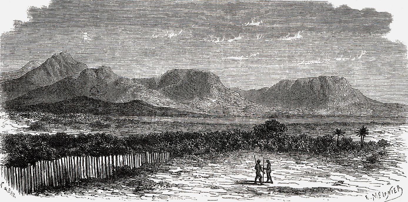 Скалистые берега Нила