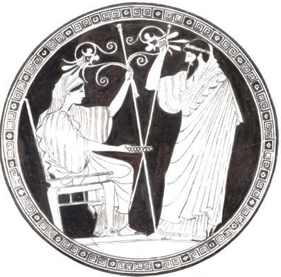 Гера и Прометей.