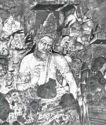 Бодхисатва Падмапани (Авалокитешвара).
