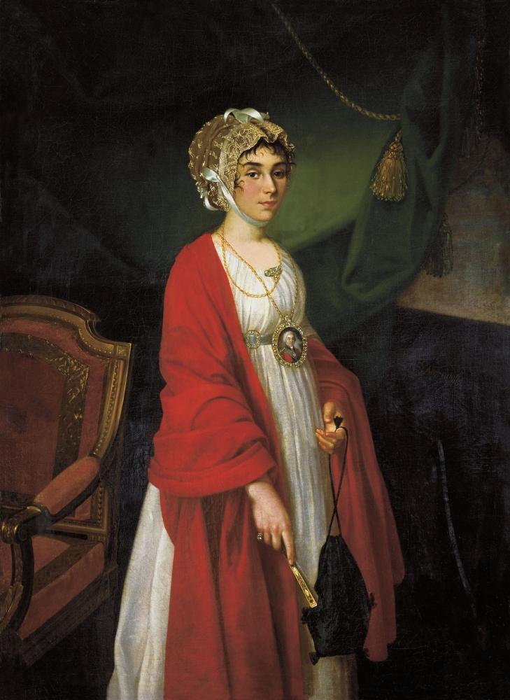 Портрет графини Шереметевой. 1789