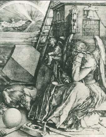 А. Дюрер. «Меланхолия». 1514г.