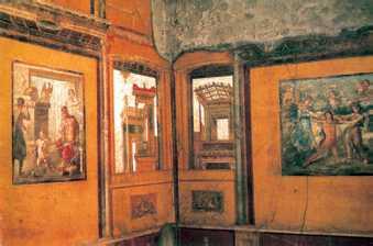 Фрески Дома Веттиев в Помпеях. 50—70-е гг. н.э.