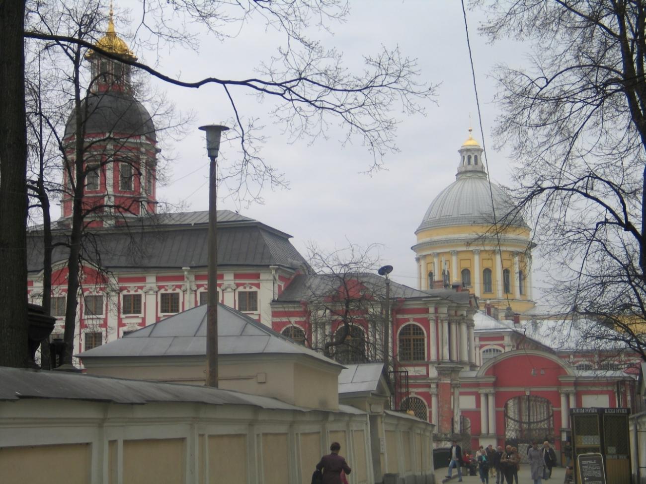 Благовещенская церковь и Троицкий собор