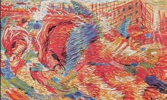 У. Боччони. «Восставший город». 1910г. Музей современного искусства. Нью-Йорк