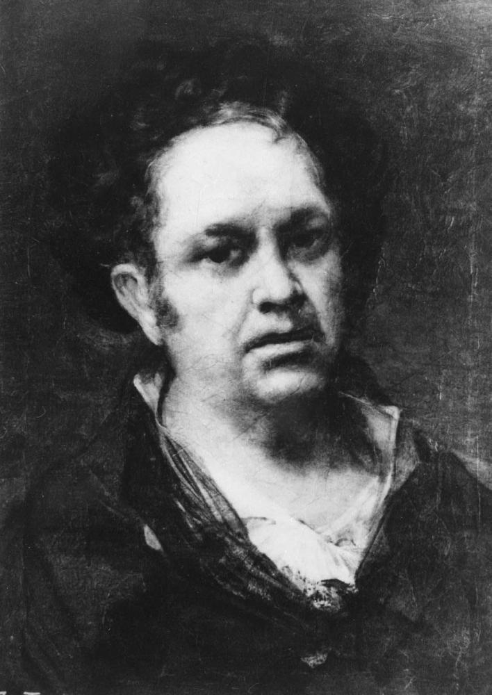 Ф. Гойя. Автопортрет. 1815. Прадо. Мадрид.