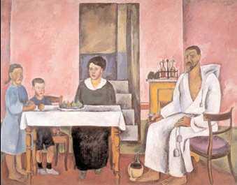 П. П. Кончаловский. «Сиенский портрет». 1912г. Государственная Третьяковская галерея. Москва