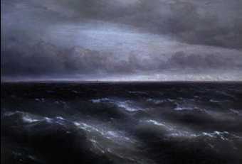 И. К. Айвазовский. «Чёрное море». 1881г. Государственная Третьяковская галерея. Москва