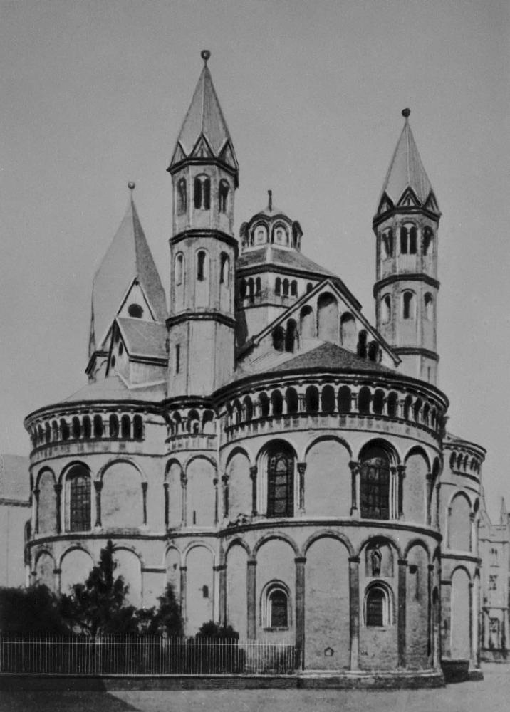 Церковь Апостелькирхе. Около 1192 - 1219.