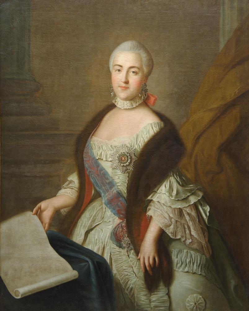 Портрет Великой Княгини Екатерины Алекссеевны