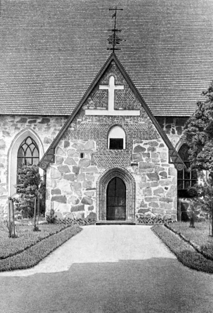 Церковь в Холлоле. 15 в.