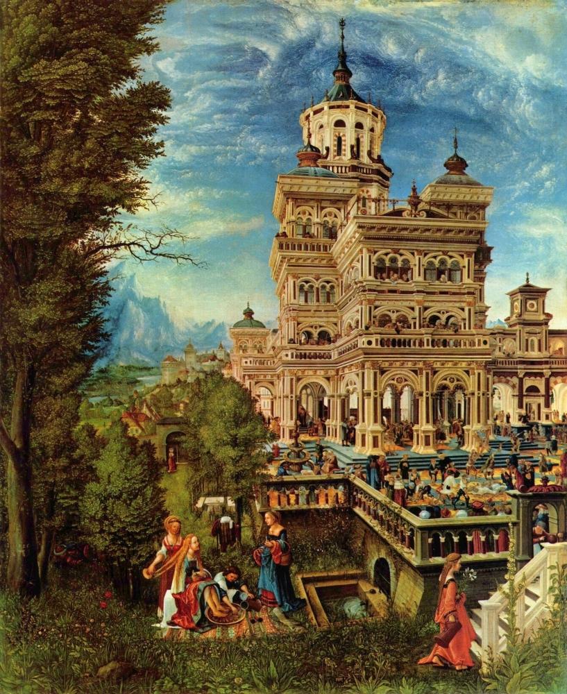 Сусанна в купальне. 1526. Старая пинакотека. Мюнхен