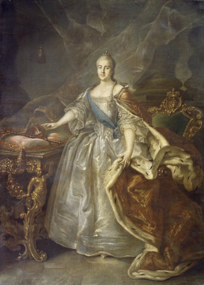 Портрет Екатерины II, 1762
